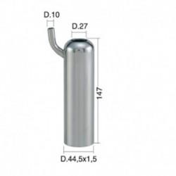 Casquillo Acero Inox. TCS 13