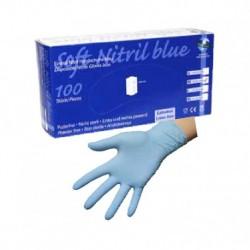 Caja guantes de ordeño nitrilo x caja Talla M