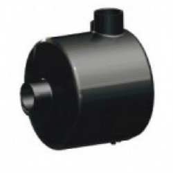 """Separador de aceite 2"""" 250mm PARA BOMBA 1.000 Y 1.500"""