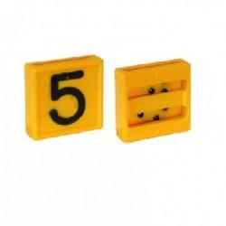 Plaquita de Identificación N° 69