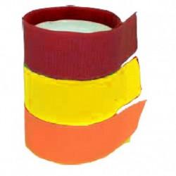 Correas de identificación nylon Rojo x10 Und
