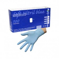 Caja guantes de ordeño nitrilo x caja Talla L